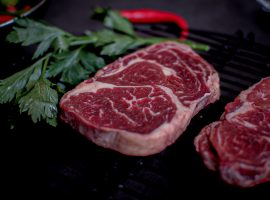 tingkat kematangan Daging Steak